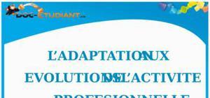 L'Adaptation aux Évolutions de l'Activité Professionnelle : Cours de Droit BTS