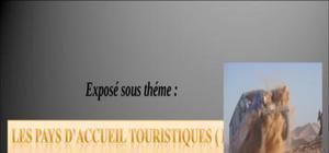 Les pat pays d'accueil touristiqueau maroc