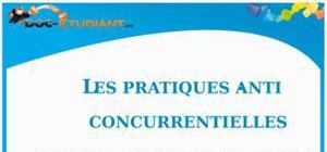 Les Pratiques Anti-Concurrentielles : Cours Droit Terminale STG