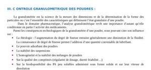 Le contrôle granulométrique des poudres pharmaceutiques