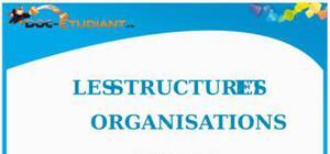 Les Structures et Organisations : Cours Droit BTS