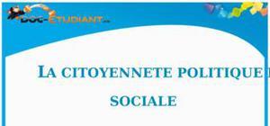 La Citoyenneté Politique et Sociale : Cours d'ECJS de Collège