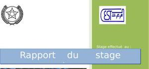Rapport de stage stage ocp