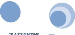 Tp automatisme automate programmable industriel tsx 27