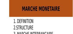 Partie1: le marché monétaire