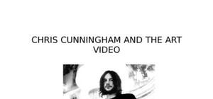 Chris cuningham and the art video (chris cunningham et l'art vidéo) document en anglais.