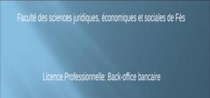 Commerce exterieure au sein du secteur bancaire