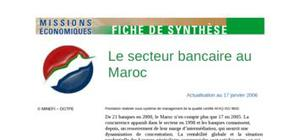 Le secteur bancaire au maroc