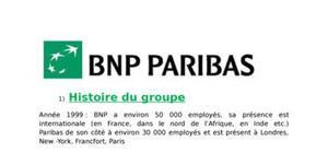 Acrc présentation de la bnp