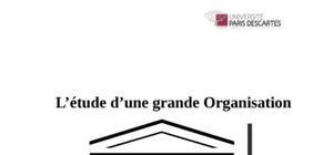 """Dossier sur unesco """" l'étude d'une grande organisation"""