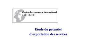 Etude du potentiel d'exportation des services