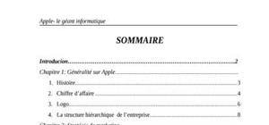 Apple- le géant informatique