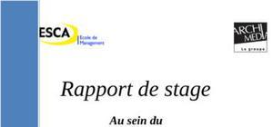Rapport de stage archimédia