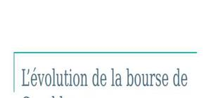 Evolution des indicateurs boursiers