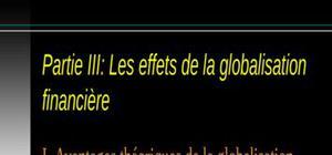 Globalisation financière