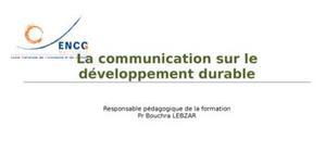La communication sur le développement durable