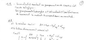 Sujet et Corrigé Bac S de Physique/Chimie 2009