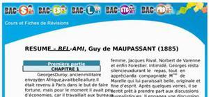 Résumé Bel Ami de Maupassant