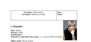 Biographie kathy reichs