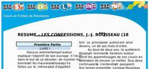 Résumé Les Confessions