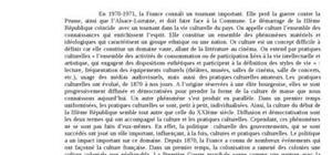 Culture et pratiques culturelles en france (1870 à nos jours)
