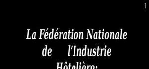La fédération nationale de l'industrie hôtelière