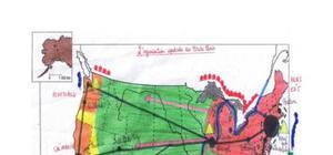 Carte bac : l'organisation spatiale des etats-unis