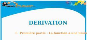 Cours Dérivation : Terminale ES, S