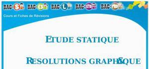 L'étude Statique et les Résolutions Graphique et Analytique : Cours Terminale S