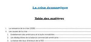 Crise économique de 2008