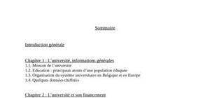 La crise des universités en belgique et les classements d'universités