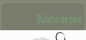 Bulletin de paie rhs