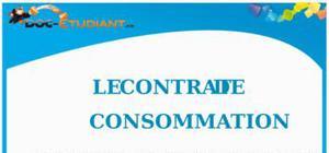 Le Contrat de Consommation : Cours Droit Première STG
