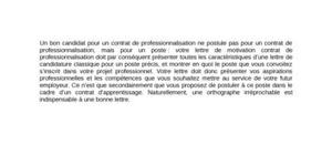 Contrat De Professionnalisation Rédigez Votre Lettre De