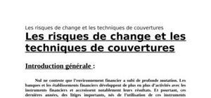 Les risques de change et les techniques de couvertures