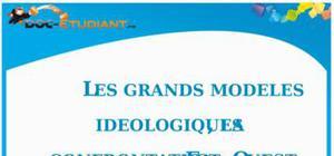 Grands modèles idéologiques et confrontation Est-Ouest : Cours Terminale ES