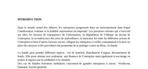 Fraude et audit interne