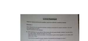 Sujet de Mathématiques Brevet 2012