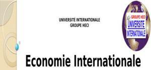 Triade:les grandes économies mondiales