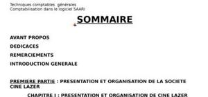 rapport de stage gestion administration