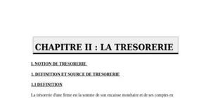 Evaluation du cycle tresorerie