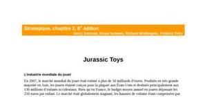 Jurassic toys - corrigé du cas