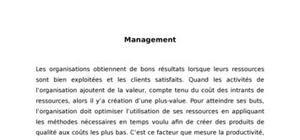 Management et gestion de conflit
