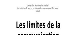 Les limites de la communication