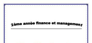 L'équilibre financier