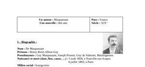 Biographie maupassant