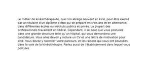 Lettre De Motivation Urssaf