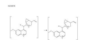 Extraction de la quinine à partir d´écorces de quiquina