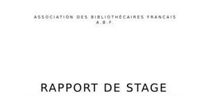 Mod le de rapport de stage t l charger - Rapport de stage cabinet d expertise comptable ...