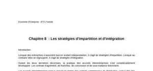 Stratégie d'impartition